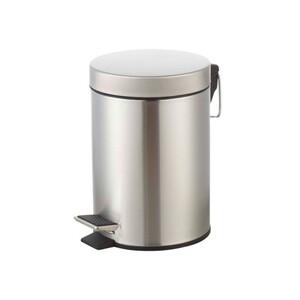 KODi Basic Edelstahl Treteimer 3 Liter
