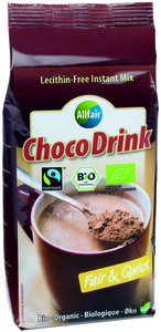 Allfair ChocoDrink Organic Fairtrade 400g Beutel