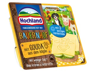 Hochland Sandwich Scheiben oder ,,Bauernhof''