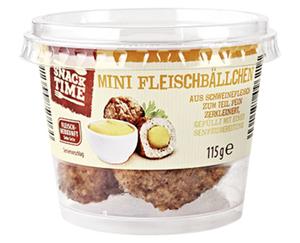SNACK TIME Mini Fleischbällchen im Becher