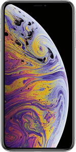 Apple iPhone XS Max mit 64 GB in silber