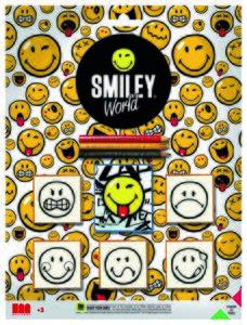 Noris Spiele Smiley - Stempelspiel Blister; 606311516