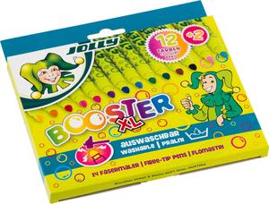 JOLLY Fasermaler BOOSTER XL, sort., 14er-Kartonhängeetui