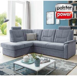polsterpower Ecksofa - denim - Basismodell