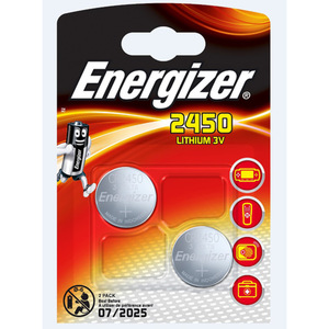 "Energizer Knopfzellen ""CR2450"" 2 Stück"