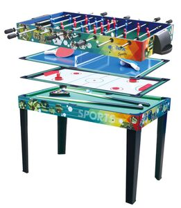 Solex (4-IN-1) Multifunctional Game Table