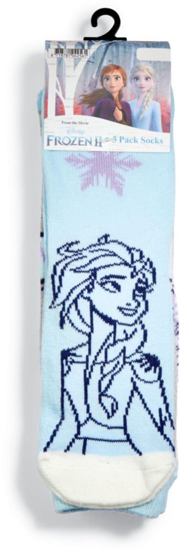 Kinder Socken, 5er Pack - Frozen II, Gr. 23-26