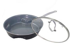 Ceraflon Airfry Pan mit Glasdeckel