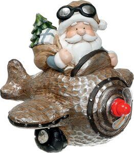 Dekor LED-Weihnachtspropeller - Crazy Santa