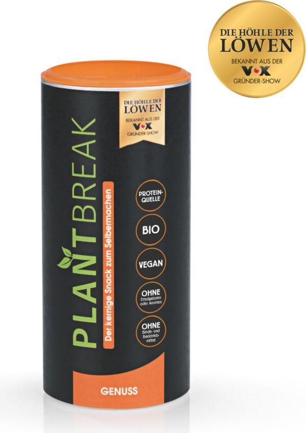 PLANTBREAK Backmischung kernig & würzig 300g für Fitnessriegel