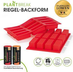 PLANTBREAK Backmischung kernig & würzig 300g für Fitnessriegel + Backmatte