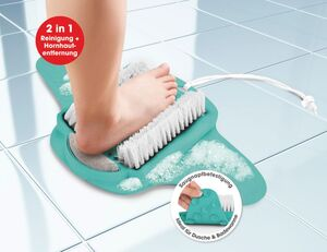 VITALmaxx Fußpflege-Pad 2in1