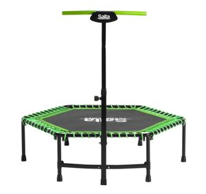 Salta Fitness - inklusive höhenverstellbaren Haltegriff - 140cm grün