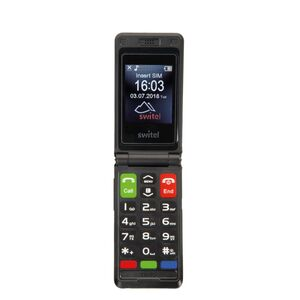 Switel M222 Senioren-Mobiltelefon mit Verstärkung