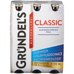 Gründel's Classic alkoholfrei 6x0,33l