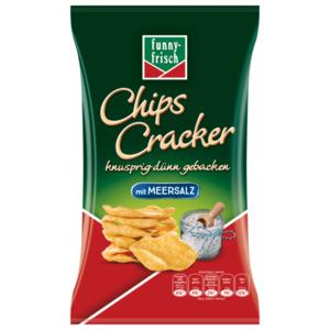 Funny Frisch Chips Cracker mit Meersalz 90g