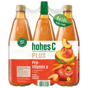 Hohes C Plus ProVitamin A 6x1l