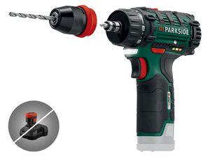 PARKSIDE® Akku-Bohrschrauber ohne Akku und Ladegerät PBSA 12 D3
