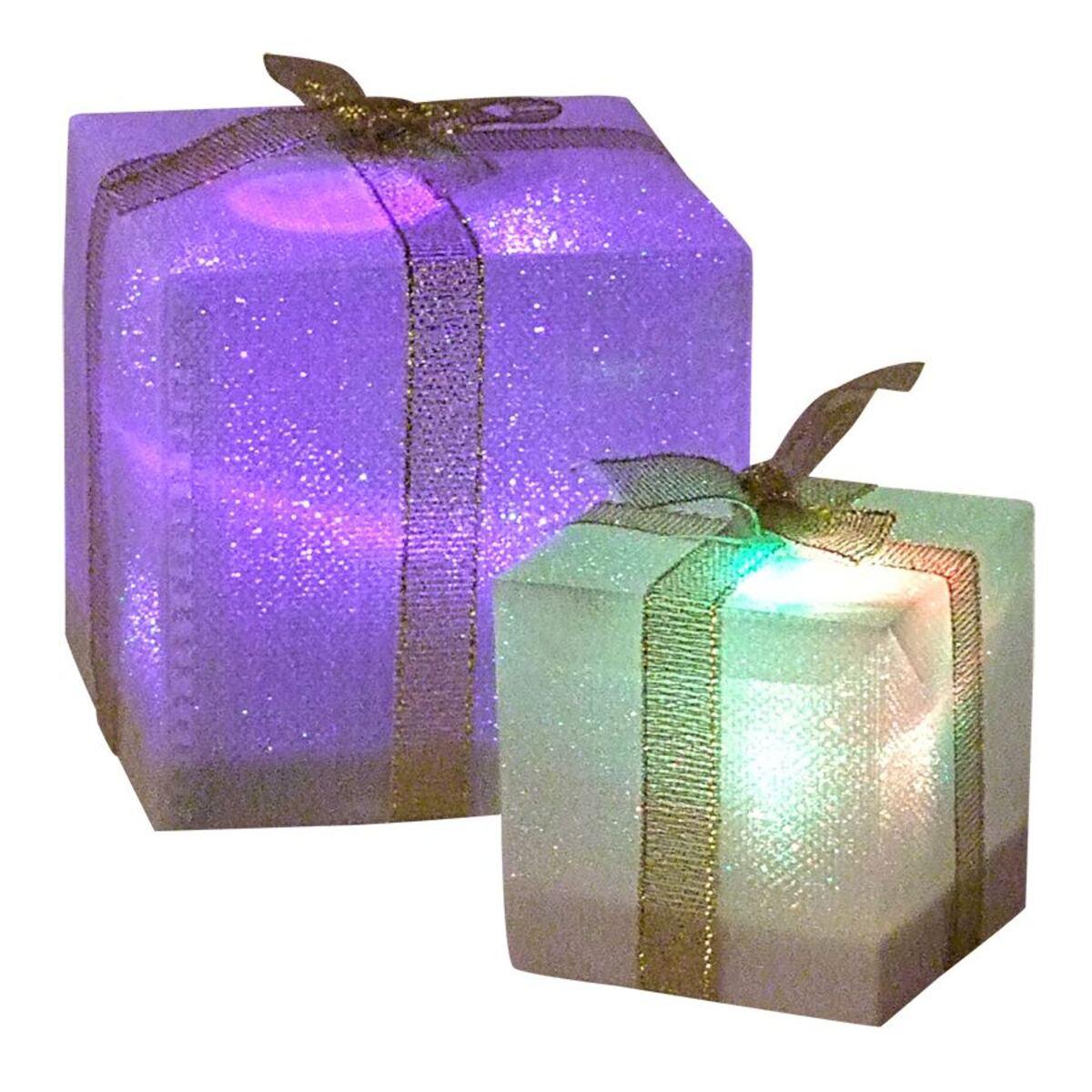 Bild 2 von LED-Geschenkpäckchen mit Farbwechsler 7,5cm