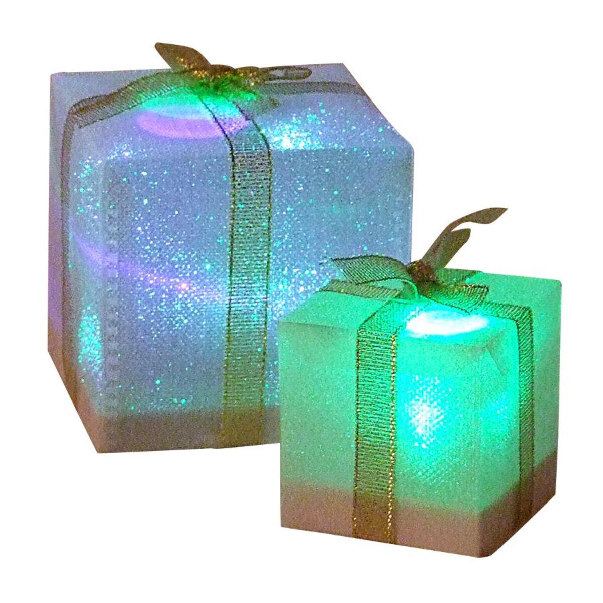 Bild 3 von LED-Geschenkpäckchen mit Farbwechsler 7,5cm