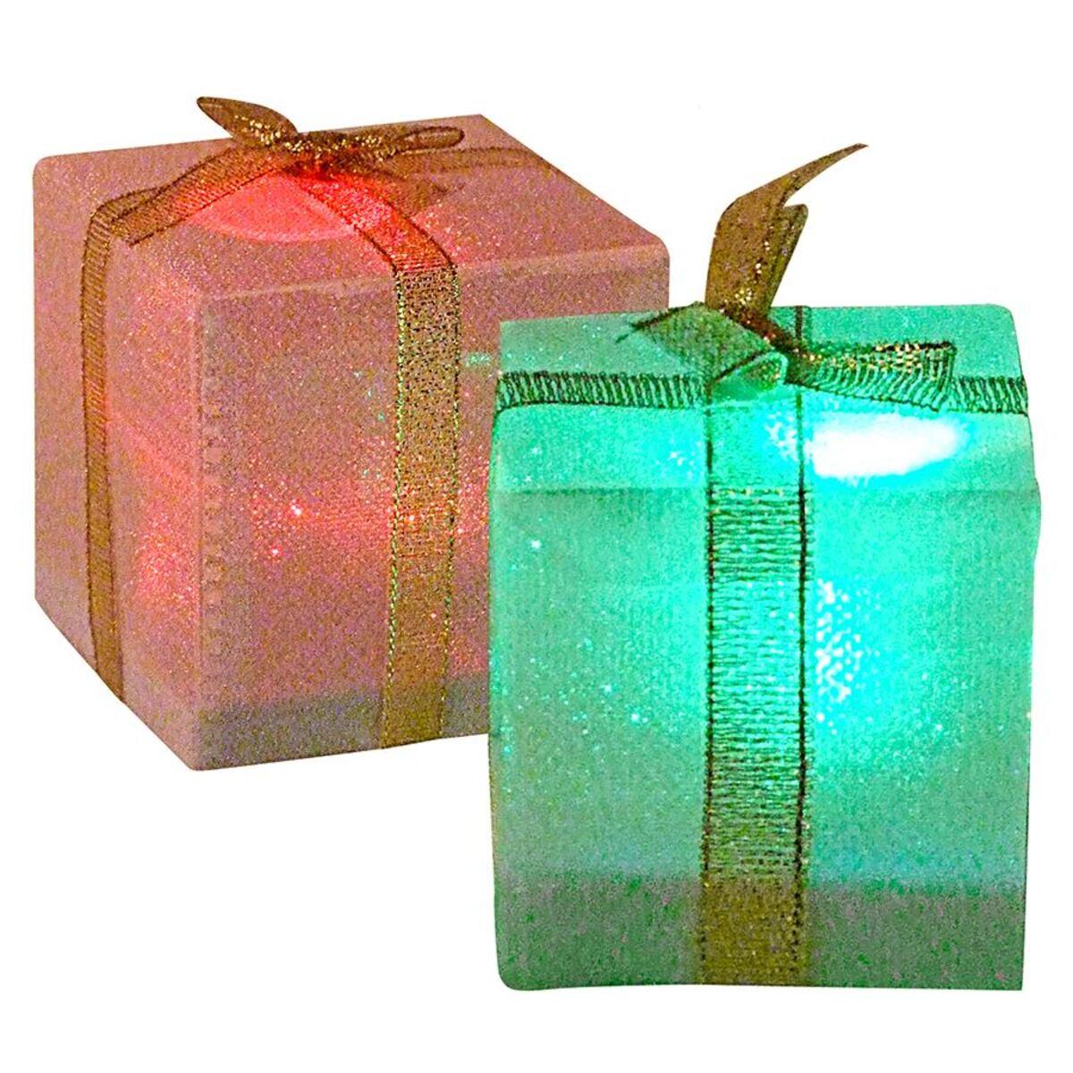 Bild 2 von LED-Geschenkpäckchen mit Farbwechsler 5cm