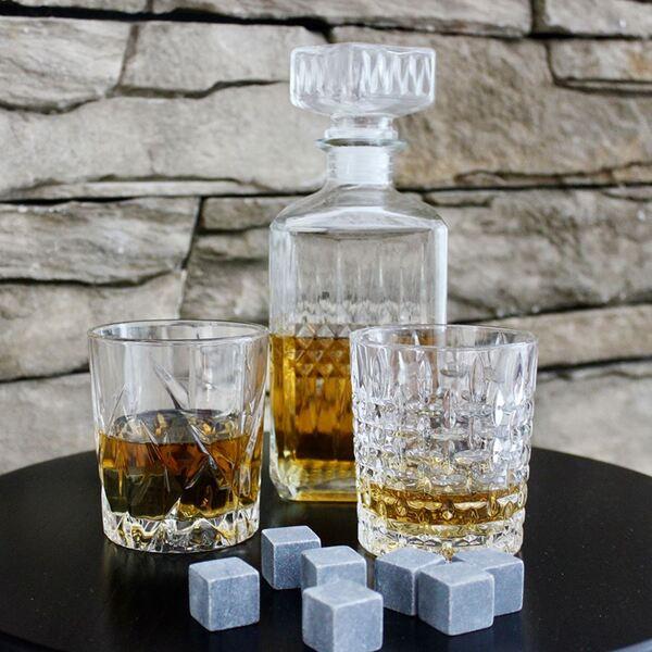 Whiskykaraffe aus Glas 850ml