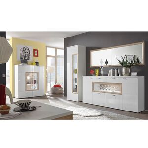 home24 Sideboard Cornhill (inkl. Beleuchtung)