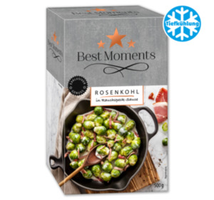BEST MOMENTS Rosenkohl in Rahmspecksauce