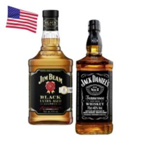 Jack Daniels Tennessee Whiskey, Honey, Fire oder Jim Beam Black Whiskey