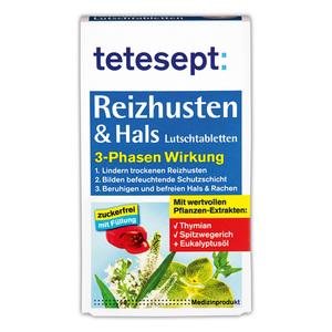 Tetesept Reizhusten & Hals Lutschtabletten