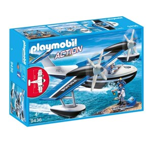 PLAYMOBIL - 9436 Polizei-Wasserflugzeug