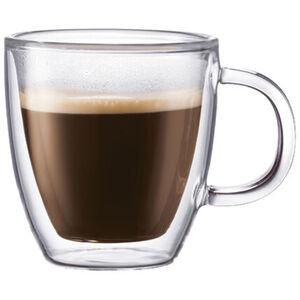Bodum Tasse Bistro, doppelwandig, 0,30 l, 2-er Set, klar