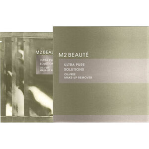 M2 Beauté Ultra Pure Solutions, Oil-Free, Augen-Make-Up Entferner, 7 Stück