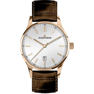 "Jacques Lemans Herrenuhr London ""JL 1-2026E"", Rosé"