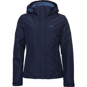 Jack Wolfskin Damen Doppeljacke Stirling Sky 3in1, navy, S, S