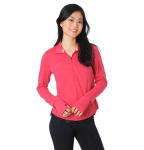 Under Armour Laufshirt, Feuchtigkeitsregulierung, Reflektor-Details, für Frauen, pink, XS
