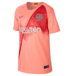 "Nike FC Barcelona Trikot ""Stadium"", 2018/19, für Kinder, altrosa, XS"