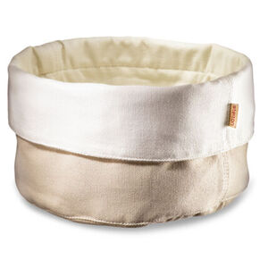 Stelton Brottasche Ø 23 cm, sand/weiß, hellbeige/weiß