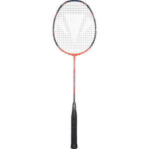 Dunlop Badmintonschläger Carlton Iso Extreme 9500, orange/schwarz, orange/schwarz
