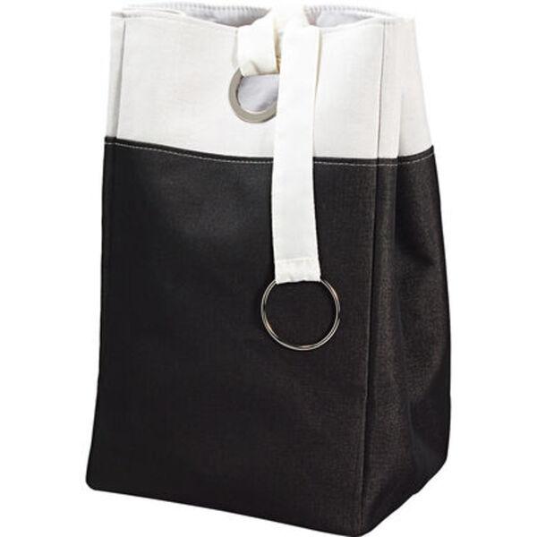 Yorn Home Wäschebehälter, anthrazit/weiß, anthrazit/weiß