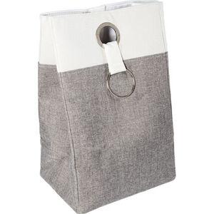 Yorn Home Wäschebehälter, grau/weiß, grau/weiß