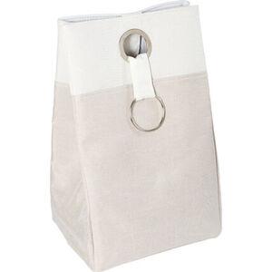 Yorn Home Wäschebehälter, natur/weiß, natur/weiß