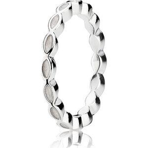 Pandora Ring, 925er Silber, silber/weiß