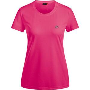 Maier Damen T-Shirt Waltraud, pink, 44, 44