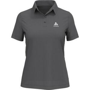 Odlo Damen Poloshirt Cardada, dunkelgrau, L, L