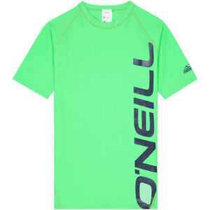 O'Neill Kinder Surfshirt Logo, neongrün, 176, 176