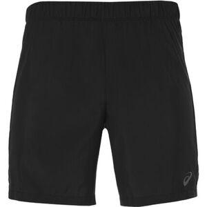 Asics Shorts, schnelltrocknend, Feuchtigkeitstransport, für Herren, schwarz, L