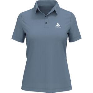 Odlo Damen Poloshirt Cardada, stahlblau, XL, XL