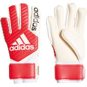 adidas Kinder Torwarthandschuh Classic League, weiß/rot, 9, 9
