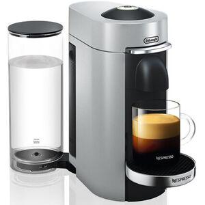 DeLonghi Nespresso-Automat Vertuo Plus ENV155.S, silber, silber